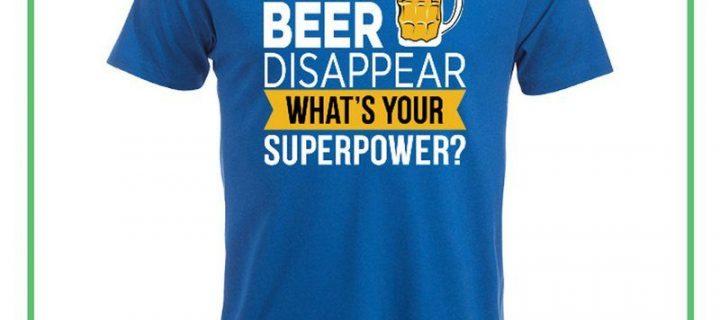 Få smarte t-shirts med tryk på